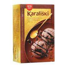 Šokoladiniai valgomieji ledai KARALIŠKI,800ml