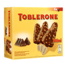 Kakav.-med. ledai TOBLERONE MINI STICK,6x50ml