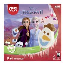 Jäätis Disney Frozen multipakk 6x60ml/6x35g