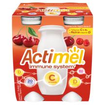 Jogurtijook kirsi C-vit Actimel 4x100g