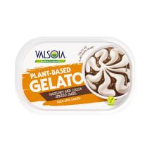 Jäätis pähkli-kakao Valsoia 800ml/400g