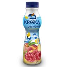 Jogurtijook kreeka vaarika-virsiku Alma 275g