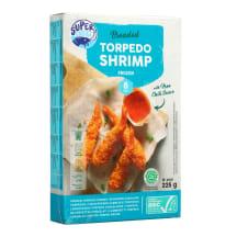 Krevetės torpedo džiūv. SUPER CHOICE,ASC,225g