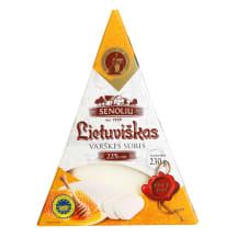 Lietuviškas varškės sūris SENOLIŲ, 22 %, 230g