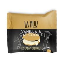 Vanillijäätis kaeraküpsistega LaMuu 75g/140ml