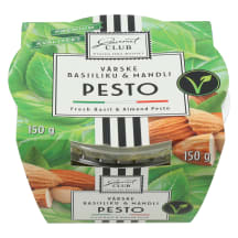 Pesto basiiliku & mandli 150g