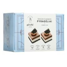 Vegan. šokolado, karam. desertas ALKEPA,110g