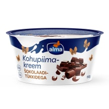 Kohupiimakreem kakao šok. tükk Alma 150g