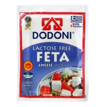 DODONI FETA sūris be laktozės, 43% rieb.s.m.,