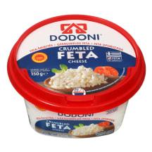 Smulk. Feta sūris DODONI CRUMBLED FETA, 150g