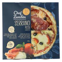 Serrano pizza 490g