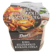 Kana riisnuudlid köögiviljadega 300g
