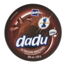 Šokolad. ledai su šok. drožl. DADU, 800 ml
