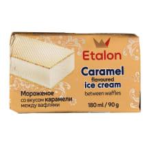 Karamelės skonio ledai ETALON, 180ml