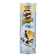 Kartulikrõpsud soola- ja pipra Pringles 165g