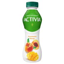 Dzer. jogurts Activia mango un persiku  300g