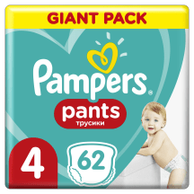 Püksmähkmed Pampers GP S4 9-15kg 62tk