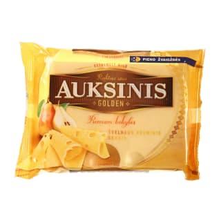 Fermentinis sūris AUKSINIS, 45 % rieb., 200 g
