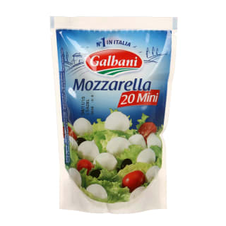 Sūris MOZARELLA MINI GALBANI, 150 g