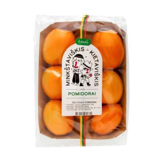 Lietuviški geltoni slyviniai pomidorai, 450 g