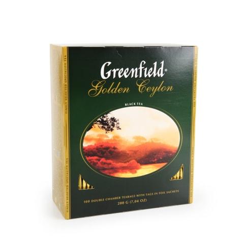 Juodoji arbata GREENFIELD GOLDEN CEYLON, 200 g