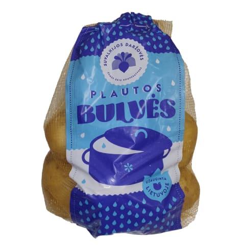 Plautos fasuotos lietuviškos bulvės, 1 kg