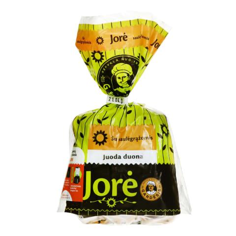 Juoda duona su saulėgrąžomis JORĖ, 280 g