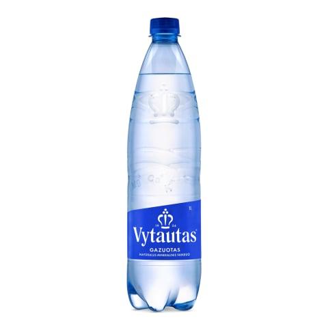 Gazuotas natūralus mineralinis vanduo VYTAUTAS, 1 l