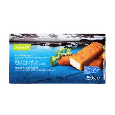 Žuvies filė piršteliai RIMI, 250 g