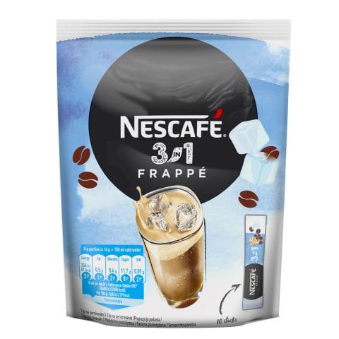 Kohv lahustuv Frappe 3in1 Nescafe 10x16g