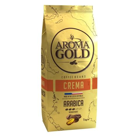 Kafijas pupiņas Aroma Gold Crema 1kg