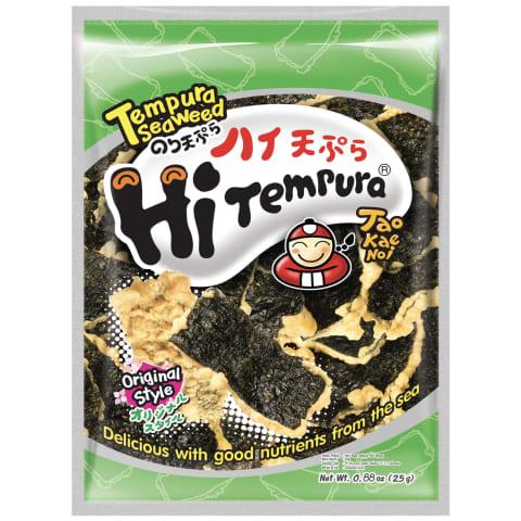 Jūras zāļu uzk. TaoKaeNoi tempura orginal 25g