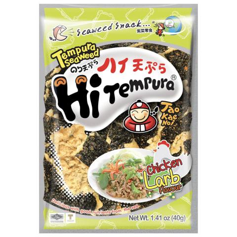Jūras zāļu uzkoda TaoKaeNoi tempura larb 40g
