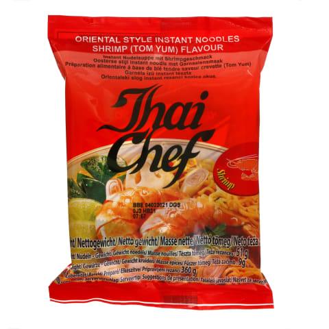 Krevečių skonio makaronai THAI CHEF, 60 g