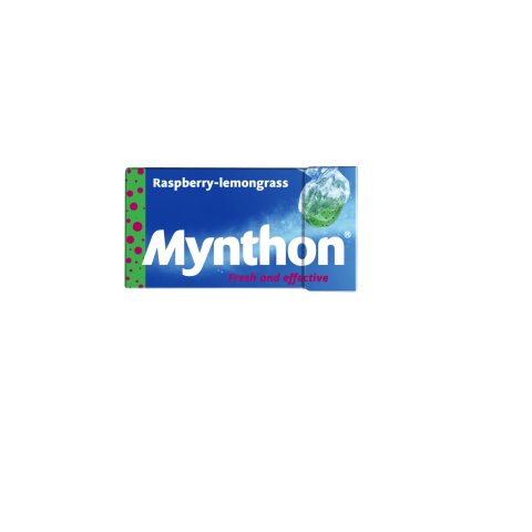 Pastilas Mynthon aveņu, citronzāles 31g