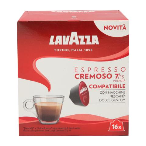 Kafijas kaps. Lavazza Espresso Cremosa 16x8g