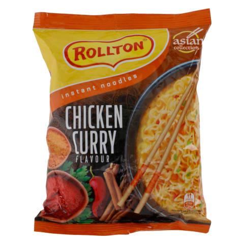 Kiirnuudlid kana&karri maitsega Rollton 65g
