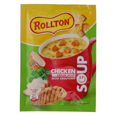 Kiirsupp kana, koore&krutoonidega Rollton 17g