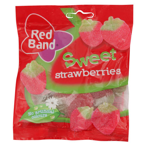 Želejkonf. Red Band sweet strawberries 100g