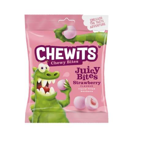 Košļājamās konfektes Chewits Juicy Bites 220g
