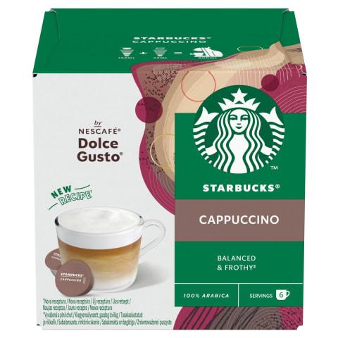 Kohvikapslid Cappucino Starbucks 120g