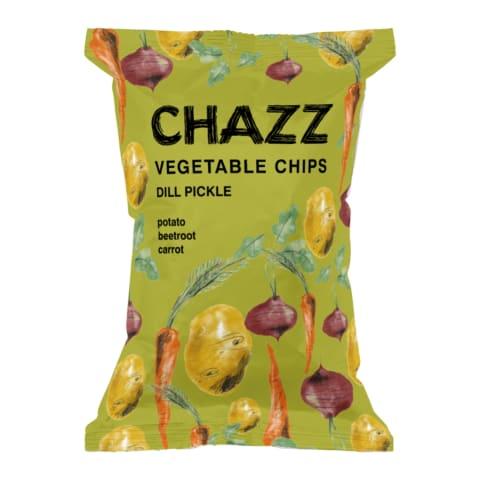 Köögiviljakrõpsud Chazz hapukurgi maits. 75g