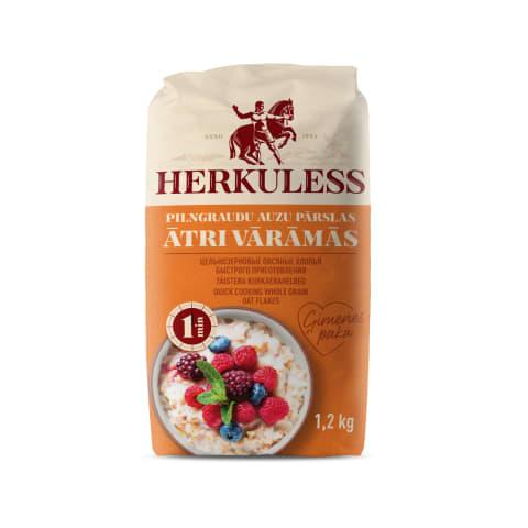 Auzu pārslas Herkuless ātri vārāmās 1,2kg