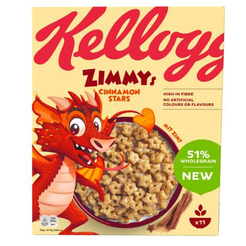Brokastu pārslas Kellogg's Zimmys 330g
