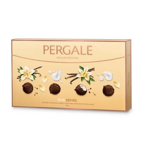 Zefīri Pergale kakao glaz. ar vaniļas g. 168g