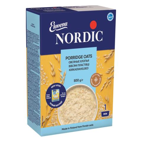 Kiirkaerahelbed Nordic 500g
