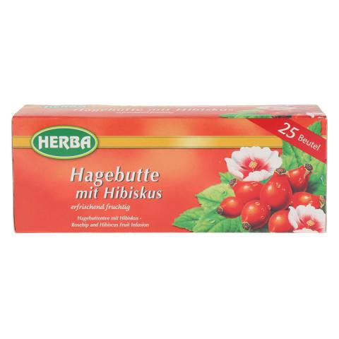 Tee kibuvitsa-hibiski Herba 25x2g