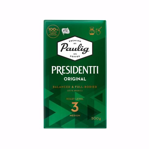 Maltā kafija Paulig Presidentti 500g