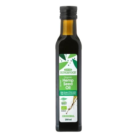 Ekol. kanapių sėklų aliejus PLANET HEMP,250ml