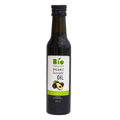 Ekolog. avokadų aliejus BIONATURALIS, 250 ml